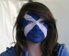 Saltire Face at The Gathering 2009