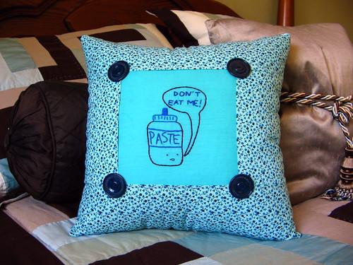 paste pillow