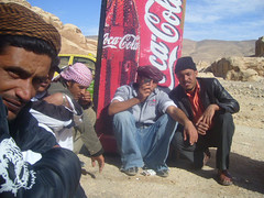 cola boys (Lila Ananda) Tags: men desert arab cocacola beduoin