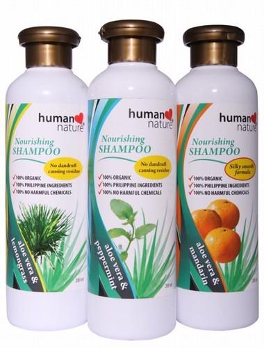 Aloe Vera Nourishing Shampoo, Mandarin scent, Php 94.75/200 ml