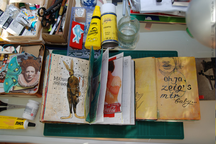 Creative-tools, diary orginiser, book