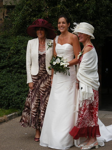 The Bride and the Mums