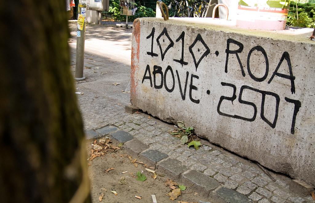 1010, Roa, Above, 2501