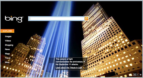 Bing 9/11 Remembrance