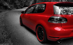 APR MK6 GTI - Black White and Red