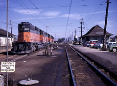 Milwaukee Road,Deer Lodge, Montana (R R Horne) Tags: station montana tracks railroads deerlodge fav10 milwaukeeroad