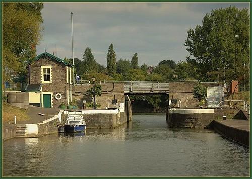 The Netham (high water) lock