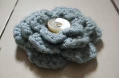Crochet brooch/corsage