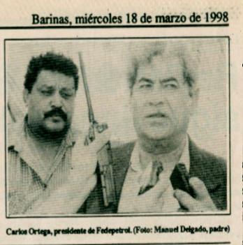 Detalle, Wills Rangel y Carlos Ortega