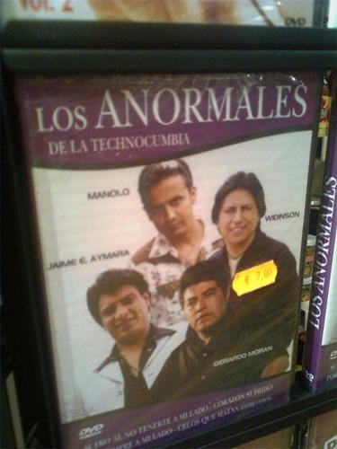 DVD de los anormales de la technocumbia