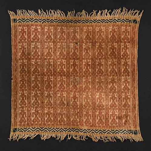 //Tampan//, Paminggir people. Sumatra circa 1900, 43 x 46 cm. From the library of Darwin Sjamsudin, Jakarta. Photograph by D Dunlop.