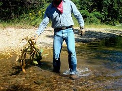 15 WS Water in cowboy boots feels sooo good! (wranglerswimmer) Tags:
