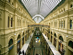 GUM Dept Store in the Square (Musical Mint) Tags: architecture russia moscow redsquare russian kremlin theredsquare musicalmint