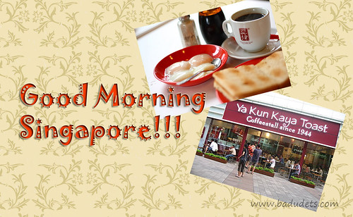 Ya Kun Kaya Toast breakfast