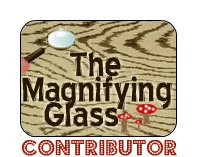 the magnifying glass c-logo