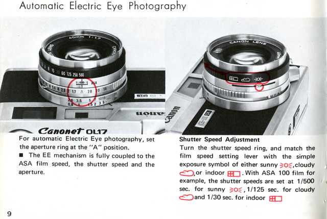automatic electric eye photography