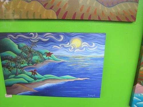 Ken Loyd's paintings are everywhere (in Maui)