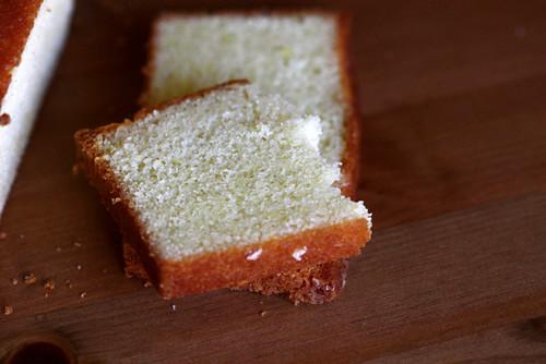 Lemon Soaked Lemon Cake