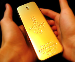 One Million (Mohammad Reza Rostami) Tags: advertising gold one million paco rabanne