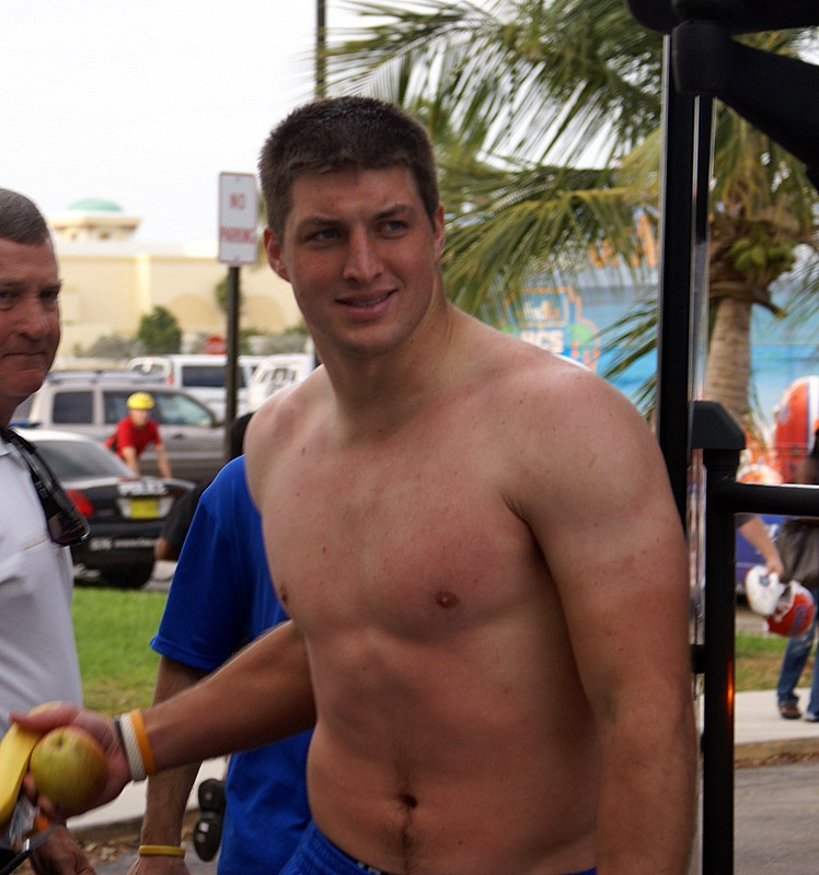 Tim Tebow Looks Yummy