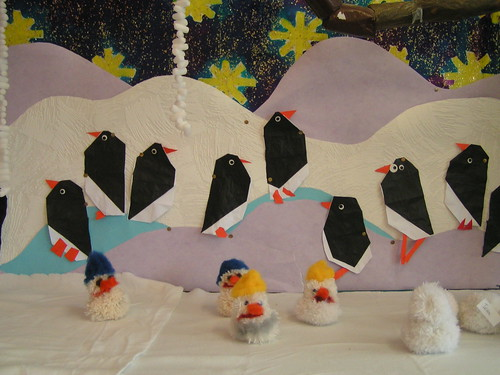 winter display in our class