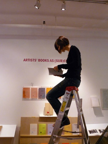 Installation at Center for Book Arts