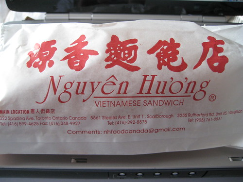 Nguyen Huong Vietnamese Sandwich