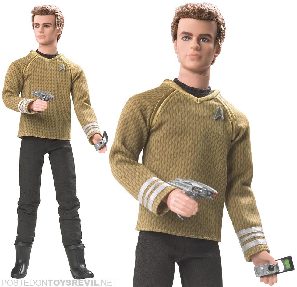 Star Trek Barbie Collector Dolls Drop April 20 Jam Tangan Swatch Original 100 Susg403 Racing Roar Casual Trendy Mattel Kirk