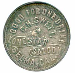 Lone Star Saloon token