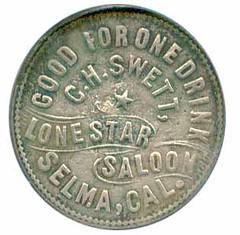 Lone Star Saloon token