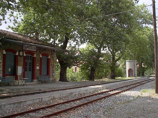 Πελοπόννησος - Αρκαδία - Δήμος Κορυθίου Ο Σταθμός στο Παρθένι