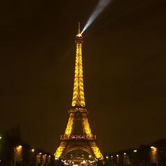 Eiffel Tower (L. Allen Brewer) Tags: paris france tower seine europe eiffeltower january eiffel champdemars iledefrance 2009 pentaxistd parisfrance cityoflights gustaveeiffel