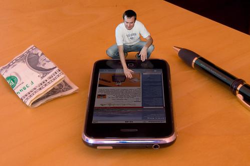Mini Me using iPhone