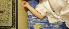 o-zashiki ~ geisha party (occhidaorientale) Tags: maiko geiko geisha tatami kimono mybedroom c