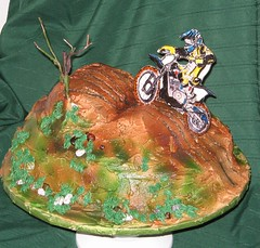Dirtbike Cake (EForkey (formerly EB Cakes)) Tags: cake dirtbike sugarart toccoaga dirtbikecake ebcakes