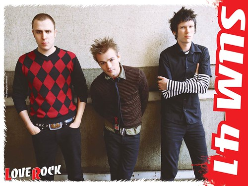 sum 41 wallpaper. Revista Love Rock - SUM41