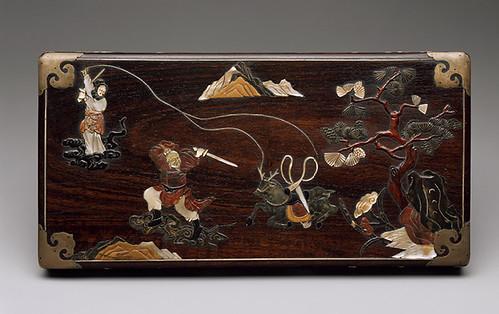 008a-Cesta de picnic- dinastía Qing-siglo 19-China- Copyrigth © 2000-2009 The Metropolitan Museum of Art