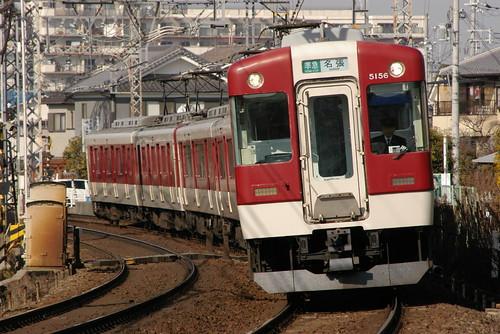 Kintetsu5200series in Masuga〜Yamato-Yagi,Kashihara,Nara,Japan 2009/2/07