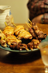Day 037 /  ([puamelia]) Tags: food 50mm yakitori 365 2009 d60