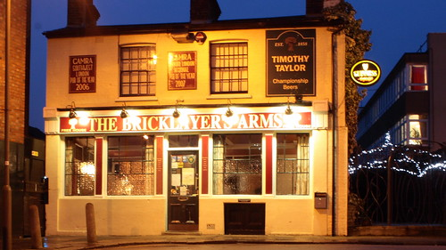 The Bricklayer's Arms in Putney - Pub of the Year 2008