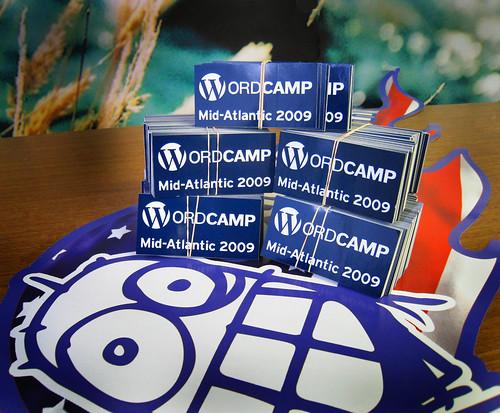 wordcamp stickers