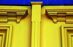 blue strip (Rick McGrath) Tags: toronto colours yongestreet abstracts streetscenes storewindows windowreflections nikond80