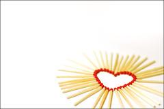 Burning Heart (lightpaint) Tags: red white