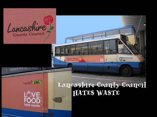 Logo · Lancashire County Council HATES WASTE
