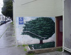 one tree (glennbphoto) Tags: tree guesswheresf foundinsf muralmonday