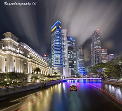 21st Century Singapore Fox Productions ....;-) (Ragstatic) Tags: city longexposure travel cruise light sky people holiday color tourism water architecture night clouds composition buildings relax corporate lights design photo google search nikon singapore asia exposure cityscape view nocturnal skyscrapers heart rags perspective culture visit tourist calm explore photograph land destination serene cbd pimp fullerton nocturne dri singapura