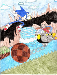 Sonic Fan Art Contest- Tyler J G