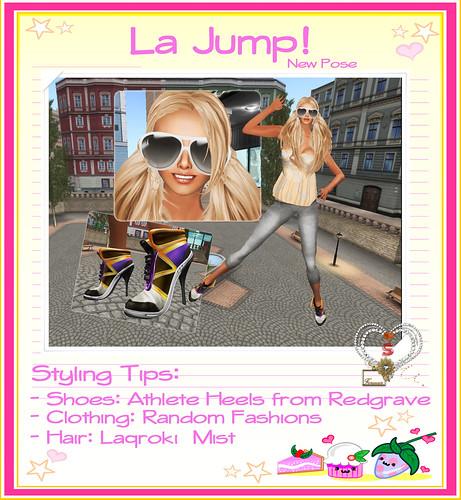 [S.LOVES] La Jump! Poster