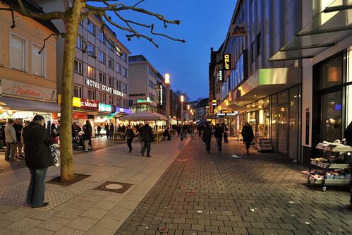 Bielefeld Germany  city images : Bielefeld Bahnhofstraße, Germany a photo on Flickriver