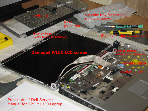 Fixing Dell XPS M1330 laptop